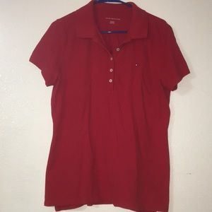 Tommy Hilfiger Women's Polo Shirt XL